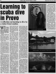 My article in Turks & Caicos Weekly News