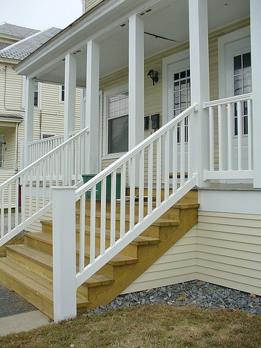 New steps & railing