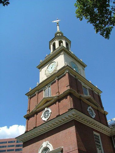 Le cloché de l'independence hall.