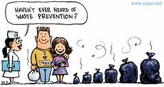 Waste prevention