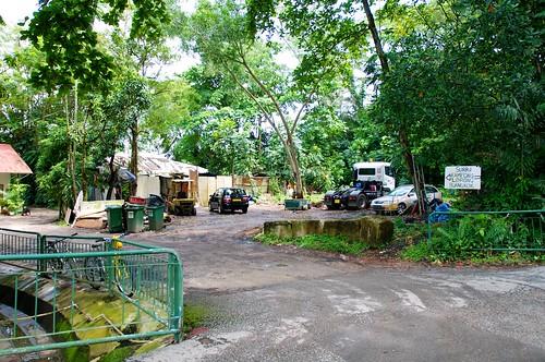 entrance to the kampung