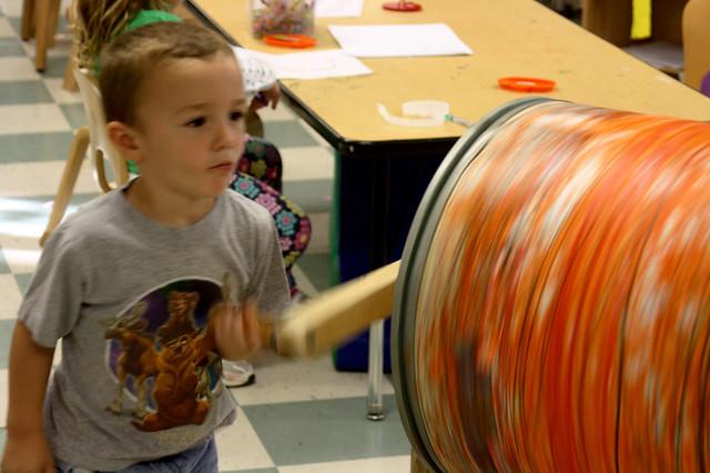 pumpkins at preschool - 6