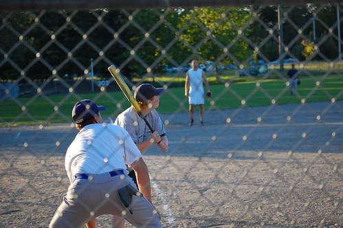 Karyl's up to bat!