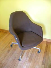 Loose cushion armchair