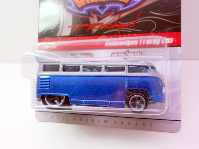 hot wheels phils grage volkswagen T1 Drag bus (3)
