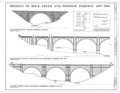Bridges of Rock Creek Parkway - Page 1