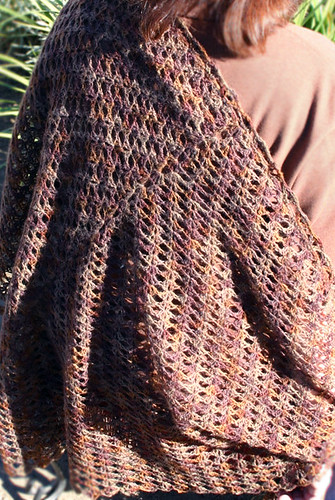 I love Faroese shawls!  This pattern comes with both crochet AND knit instructions! How cool is that?!