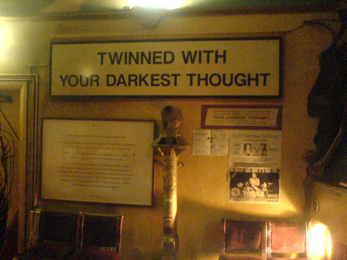 your darkest thought