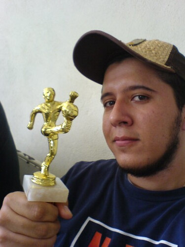 Yo y el trofeo