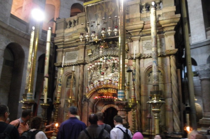 14th Station of the Cross - The Aedicule