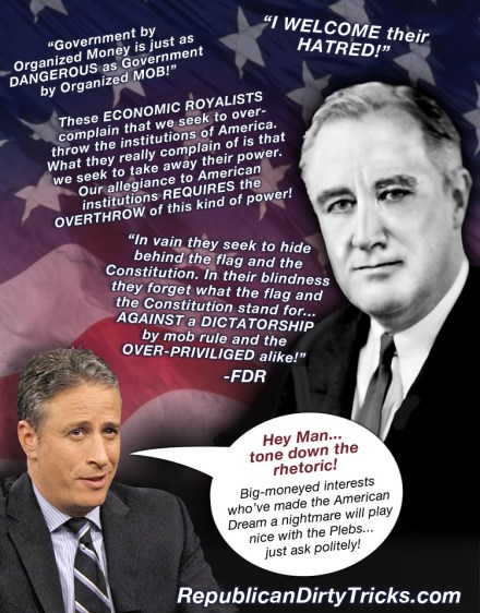 John Stewart's Penchant for False Left/Right Equivalency Conflates Passion with Propaganda Image