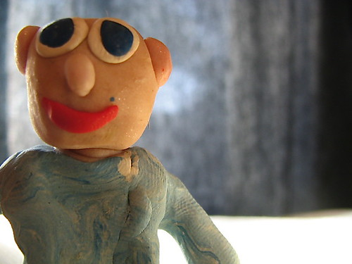 Clay Guy from Yesteryear