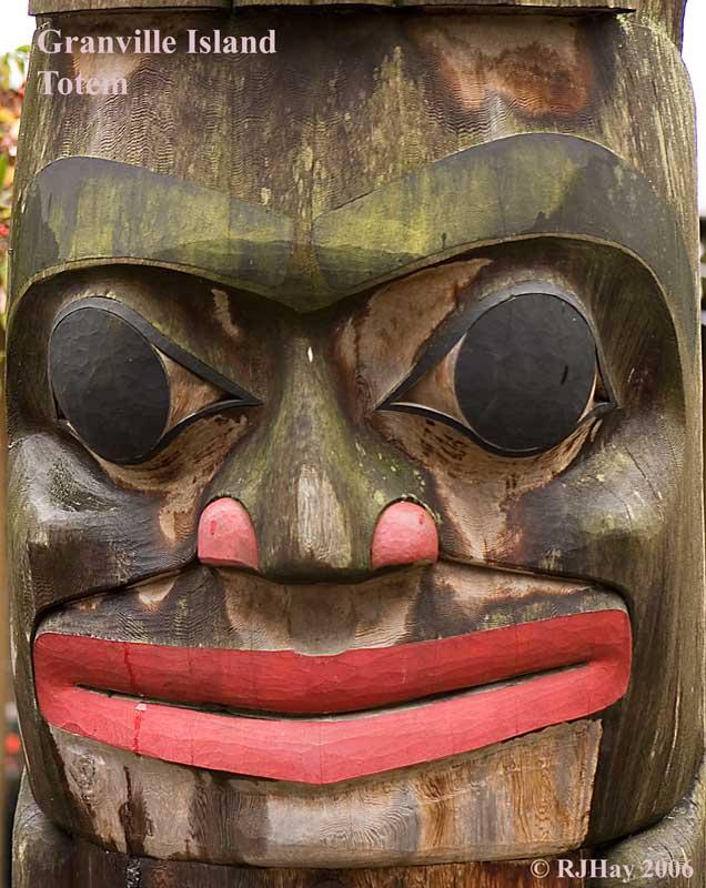 Granville Island Totem