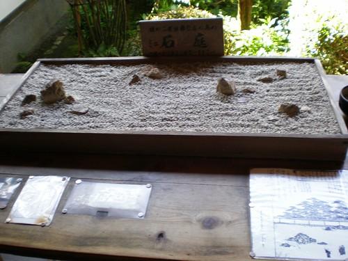 Maqueta jardin Ryoanji