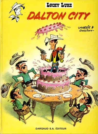 Lucky Luke, Dalton City, Dargaud S.A. Editeur, 1968