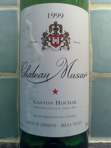 Château Musar 1999