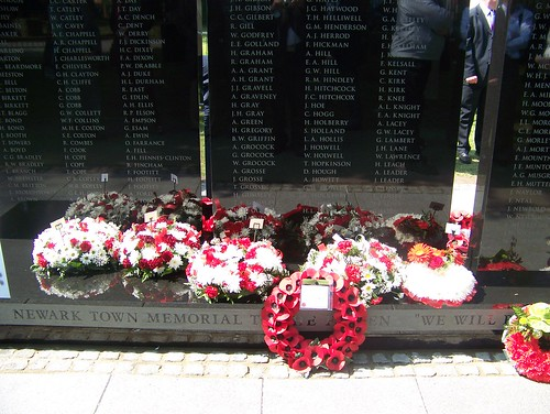 The Memorial to the Fallen was unveiled by Richard Todd OBE. by you.