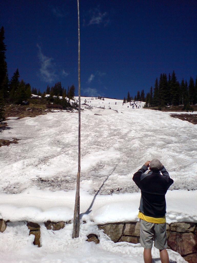 Rocky mountain snow