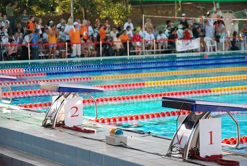 2007聽障游泳錦標賽-訊號燈