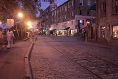 Historic River Street. Savannah, GA