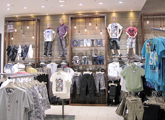 Boys Section of Store