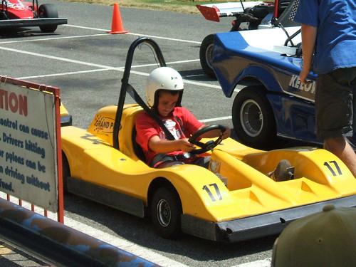 Sam's Birthday Go Kart