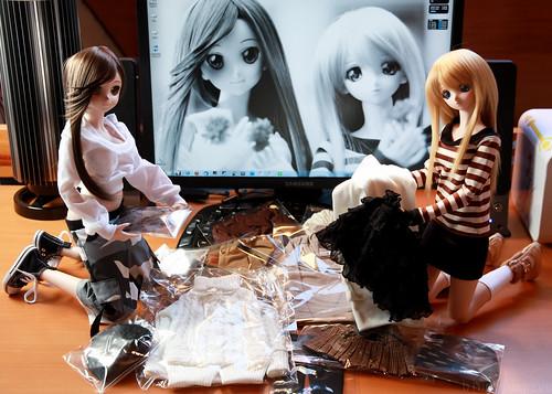 Nine9Style Dollfie fashion loot