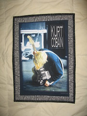 kurt cobain wallhanging
