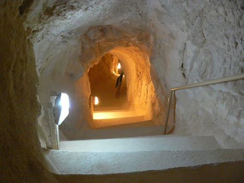 descent to the cistern