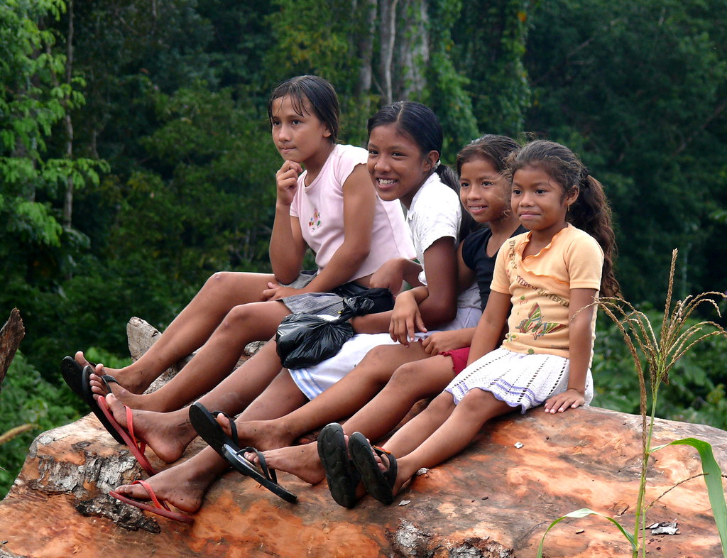 Macushi Girls, Guyana