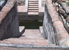 Steps in the Brahma Theertham
