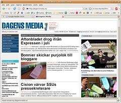 Min bild i Dagens Media