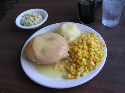 Chicken pie dinner
