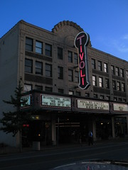 facade of the tivoli theater in the u city loop