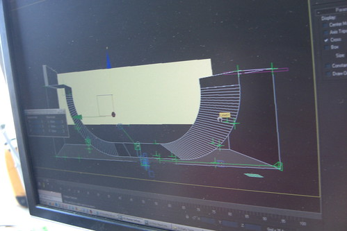 3d model of the halfpipe