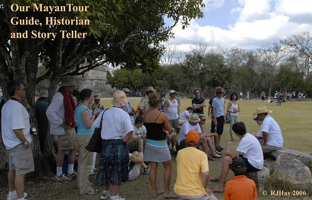 Chichen-Itza - Mayan Tour Guide and Story Teller