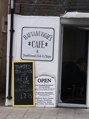 Havvanuggie's Cafe for Traditional Fish and Chips