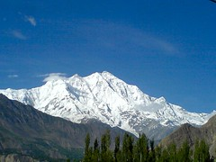 Fantastic View Of Rakaposhi From Aliabad