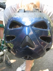 Face in the Helmet