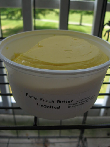 farm hopping - fresh butter
