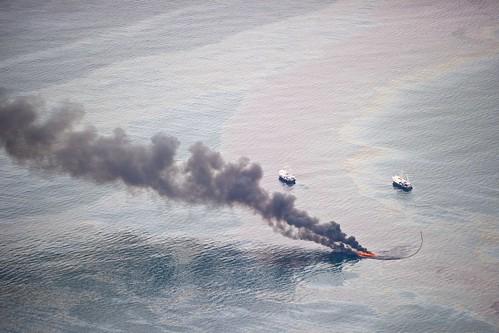 Luftbilder der Ölkatastrophe aus dem TED-Blog