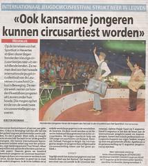 Het Laatste Nieuws   31 juli 2007