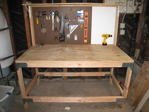 Diy Workshop Table Plans