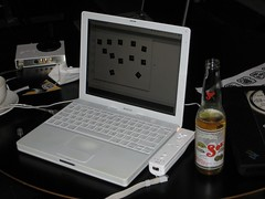 Birra e notebook