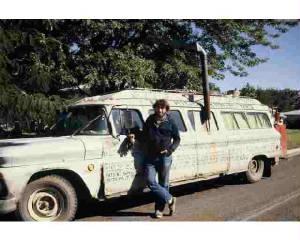 Bartholomew Bean and the vehicle