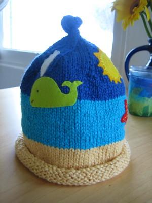 Twin hat, still more adorned