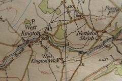 "Ordnance Survey ""One-Inch"" Map"