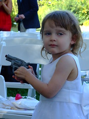 Flower Girl & Toy Gun