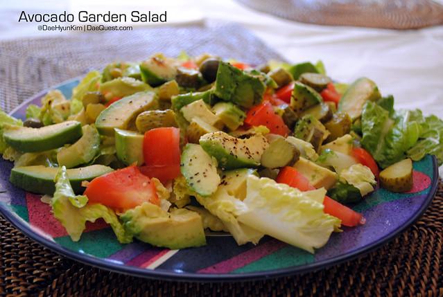 Avocado Garden Salad