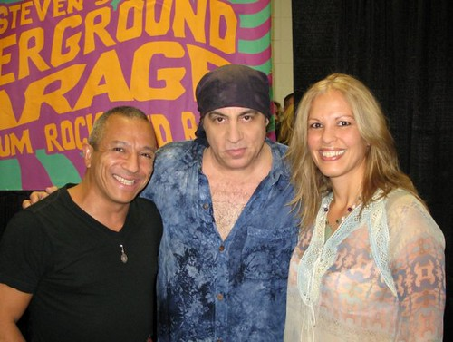 Michael Alago Little Steven Van Zandt Debbie Southwood-Smith